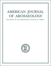 American Journal of Archaeology cover image