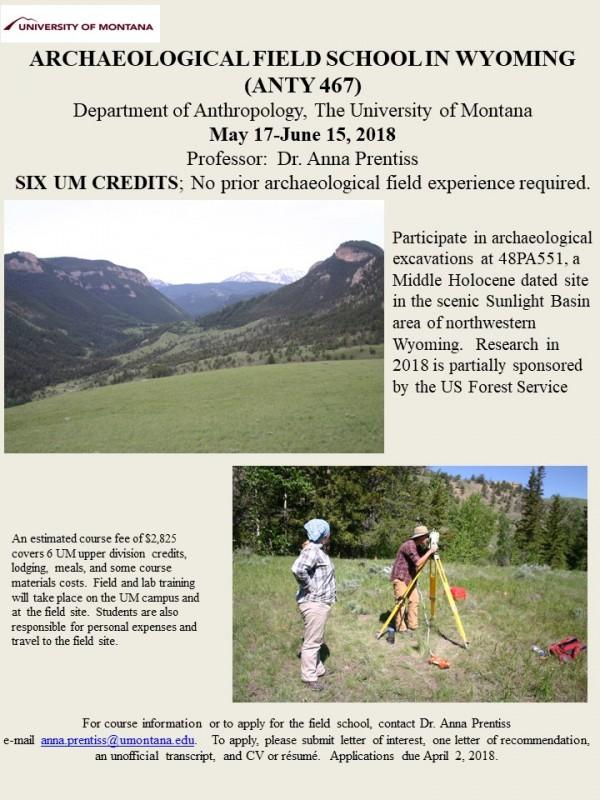 Sunlight Basin Wyoming Map.Archaeological Fieldwork Opportunities Bulletin Sunlight Basin