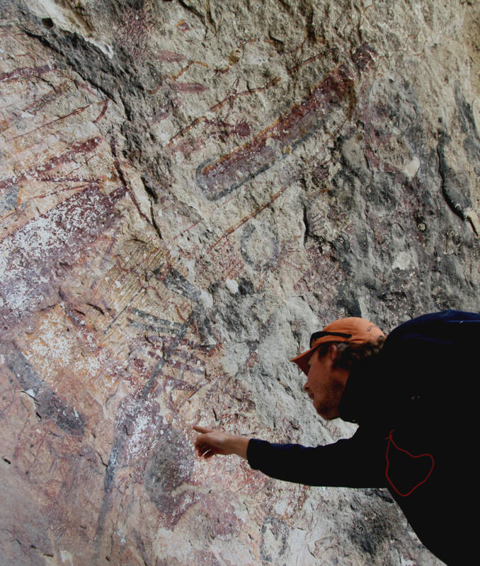 Radiocarbon dating rock art