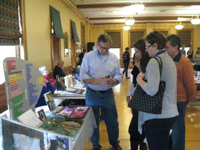 Visitors got an opportunity to speak with professionals