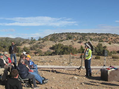 Two Eagle Interpretive Trail Dedication at Bighorn Canyon National Recreation Site