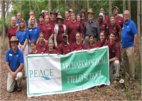 William Peace University Field School in Historical Archaeology of the Lower Cape Fear, Fort Caswell, North Carolina