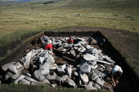 Early Medieval kiln complex on Slievemore, Achill, 2011