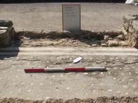 Sample of mosaic floor found at Vacone Villa Site.