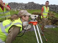 Learning how to take Surveys at Caherconnell