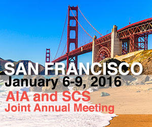 AIA and SCS Joint Annual Meeting