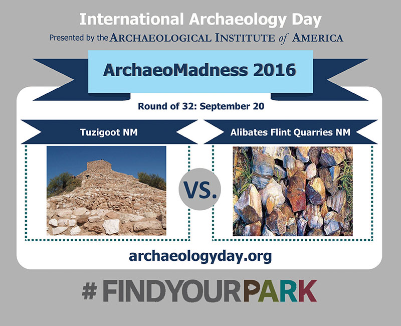 Tuzigoot National Monument vs. Alibates Flint Quarries National Monument
