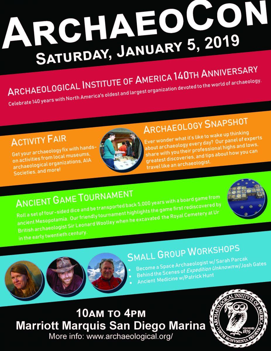 ArchaeoCon Flyer