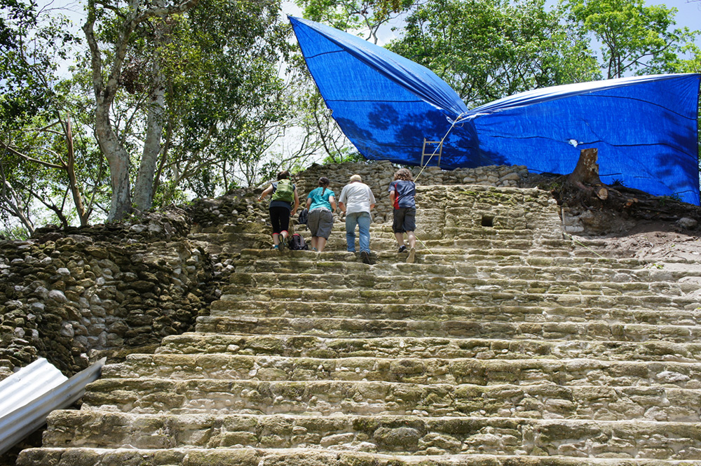 about cahal pech archaeological institute of america
