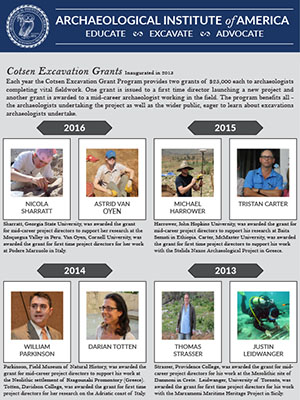 Cotsen Grants Throughout the Years