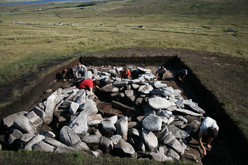 Excavating an Early Medieval kiln