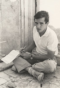 John Coleman at Aphrodisias, summer 1963