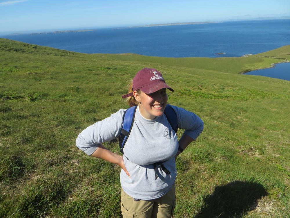 Carolyn hiking