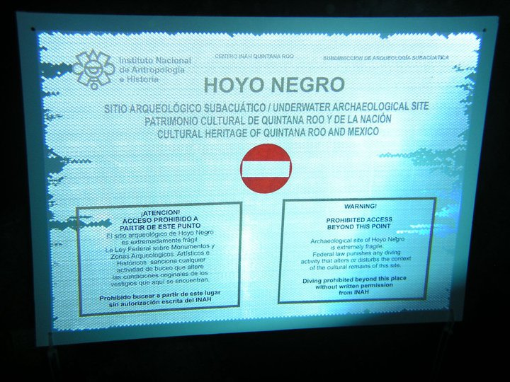 Aia Site Preservation Projects Hoyo Negro Mexico